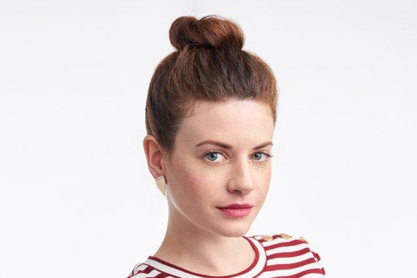 Clous-Stripe-Blanc-Les femmes à Barbes
